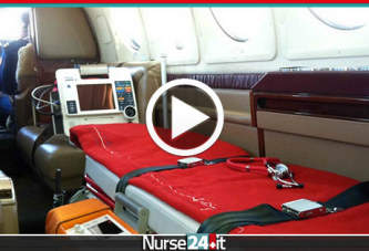 Trasporto aereo dei pazienti critici