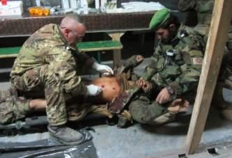 """Andrea, Infermiere Militare: """"in missione autorizzati ad interventi chirurgici"""""""